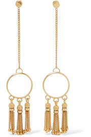 Lynn gold-tone earrings