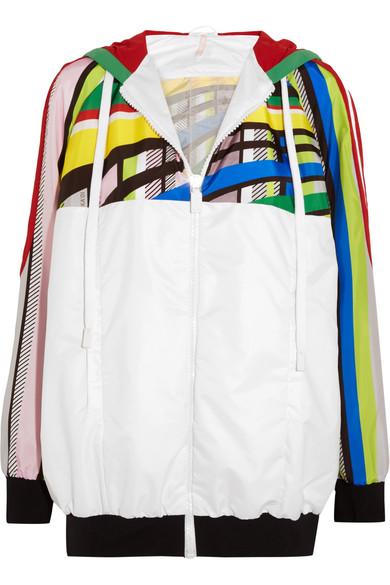No Ka'Oi - U'i Printed Shell Jacket - Green