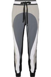 Pana color-block stretch-shell track pants