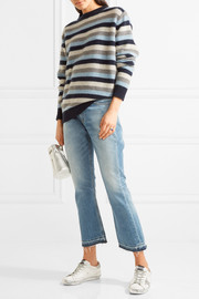 The Elder Statesman Picras striped cashmere sweater