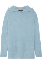 The Elder Statesman Hooded cashmere sweater