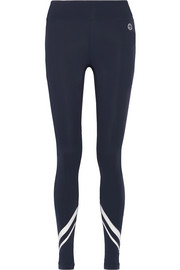 Tory Sport Printed stretch-Tactel® leggings