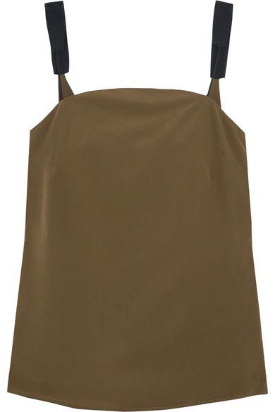 Olea silk crepe de chine camisole