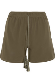 Paxi silk crepe de chine shorts