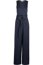 Paul & Joe Satin wrap jumpsuit