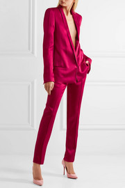 Haider Ackermann Satin slim-leg pants