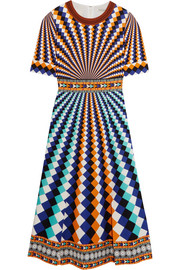 Mary Katrantzou Osmond printed crepe dress