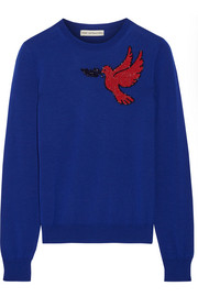 Mary Katrantzou Helia embellished wool sweater