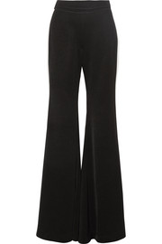 Lovedolls striped crepe de chine wide-leg pants