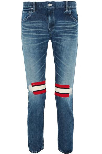 Facetasm skinny jeans