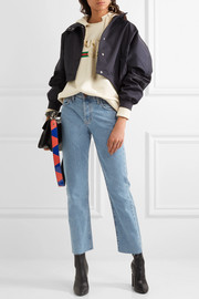 The Vintage Straight high-rise jeans