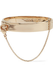 Safety Chain gold-plated bracelet