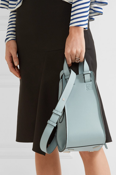Loewe Hammock Small Textured Leather Tote Net A Porter Com