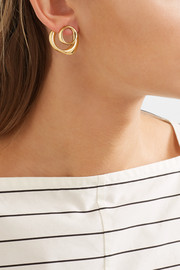 Pamela Love Kendrick gold-plated hoop earrings