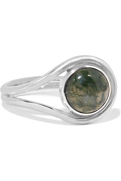 Pamela Love - Lasso Silver Agate Ring - 6