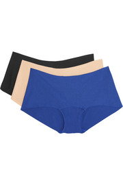 Butter set of three stretch Micro Modal briefs
