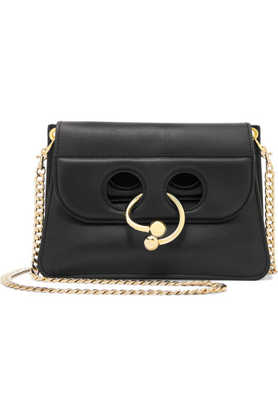 J.W.Anderson - Pierce Mini Leather Shoulder Bag - Black