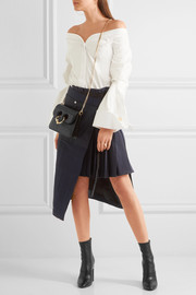 Pierce mini leather shoulder bag