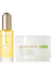 Goldfaden MD Advanced Hydrating & Brightening Set, 30ml and 100ml