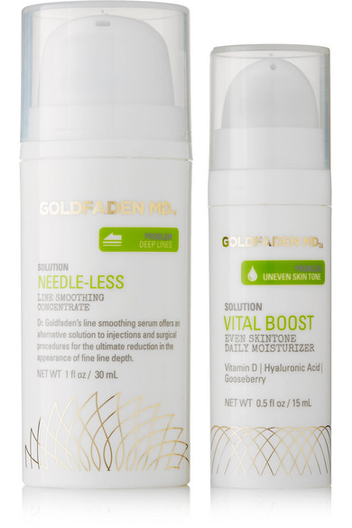 GOLDFADEN MD GLOWING SKIN BUNDLE, 30ML AND 15ML - COLORLESS