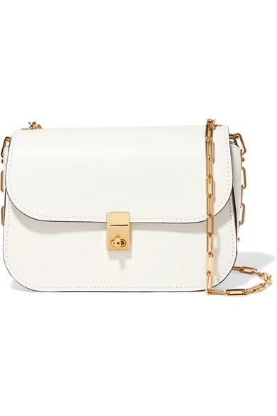 Valentino - Leather Shoulder Bag - White