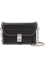 Valentino The Rockstud mini leather shoulder bag