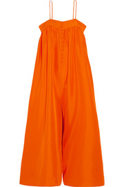 Aroussa silk jumpsuit