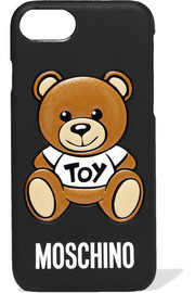 Moschino Printed silicone iPhone 7 case