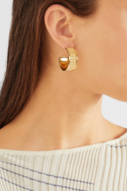 Loewe Gold-tone hoop earrings