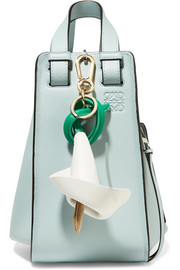 Loewe Leather and suede keychain