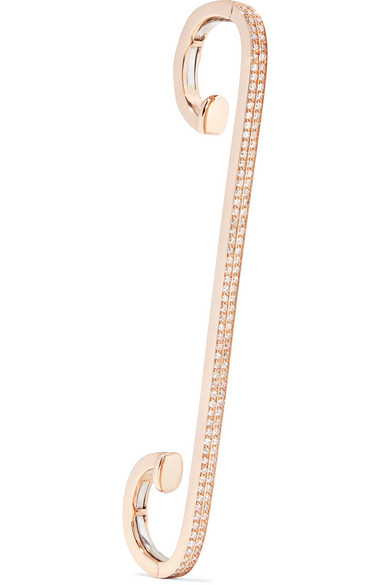 Staple 18-karat Rose Gold Ear Cuff - one size Repossi Ju6iHM1