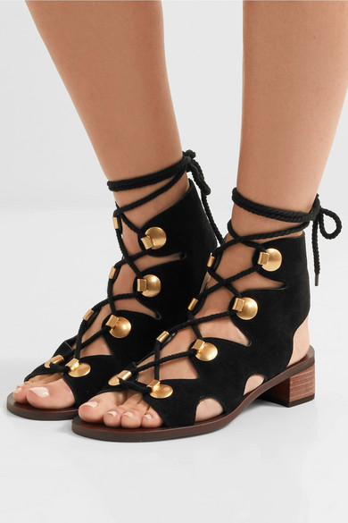See By Chloé. Edna suede sandals 5f11ee5f8be