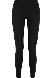 ATM Anthony Thomas Melillo Ribbed stretch Micro Modal leggings