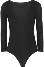 Ribbed stretch Micro Modal bodysuit