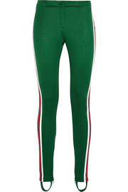 Gucci Striped jersey leggings