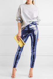 Gucci Sequined tulle leggings