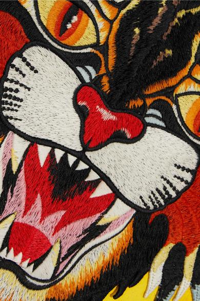 Gucci Bedrucktes Sweatshirt aus Baumwoll-Jersey mit Applikation Erstaunlicher Preis Zu Verkaufen uWxD1LOTd