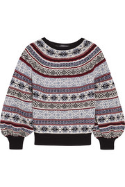 Fair Isle knitted sweater