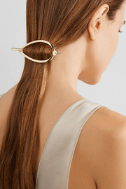 Mitchell gold-plated hair pin