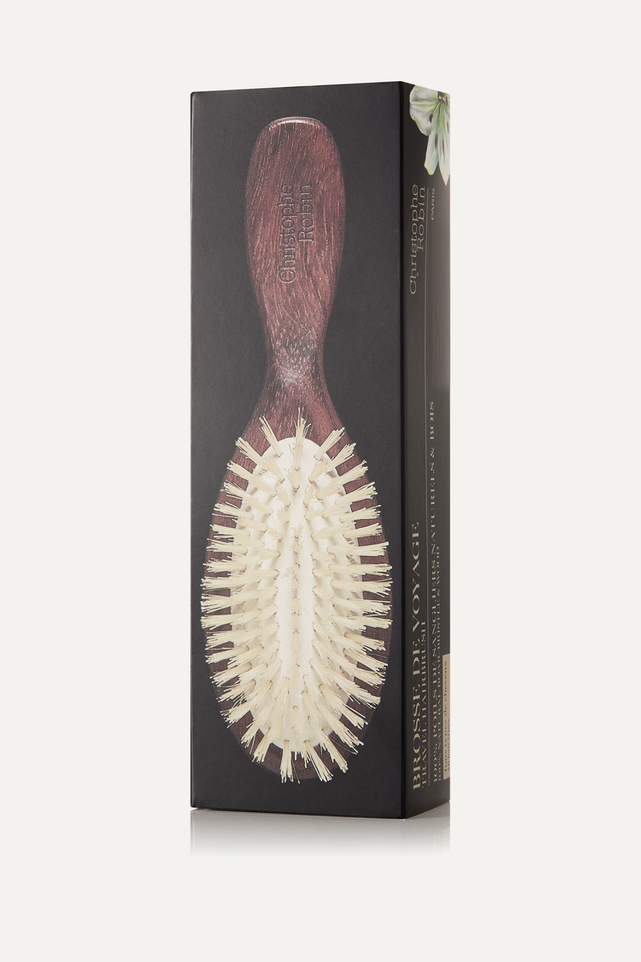 Christophe Robin Travel Boar Bristle Hairbrush