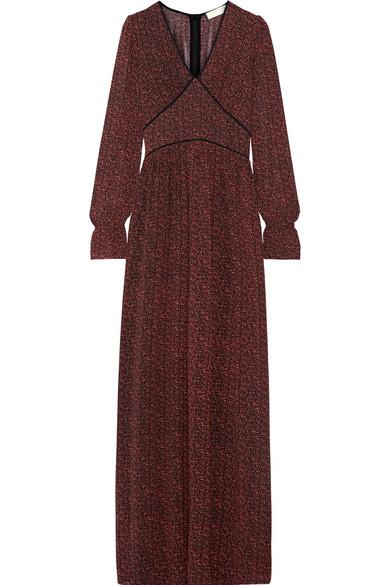 MICHAEL Michael Kors | Robe longue en georgette imprimée à