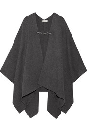 MICHAEL Michael Kors Wool and cashmere-blend cape