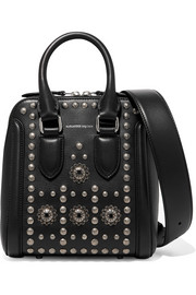 Alexander McQueen Heroine small embellished leather shoulder bag