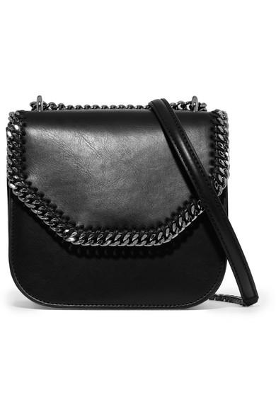 046d7898b399 Stella McCartney. The Falabella Box mini faux leather shoulder bag