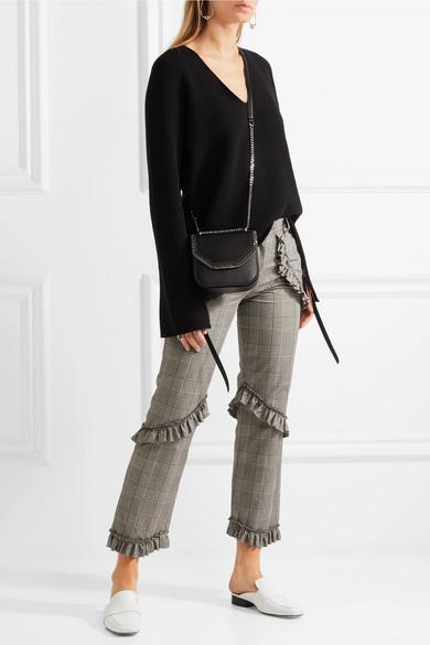 62b1287d0af35 Stella McCartney. The Falabella Box mini faux leather shoulder bag