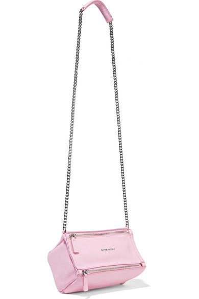 d67e93c6f7 Givenchy | Pandora mini textured-leather shoulder bag | NET-A-PORTER.COM