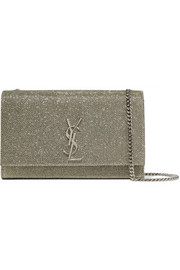 Monogramme Kate medium glittered leather shoulder bag