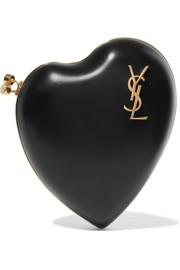 Saint Laurent Pochette en cuir Love Box