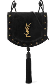 Saint Laurent Monogramme Fetish suede shoulder bag