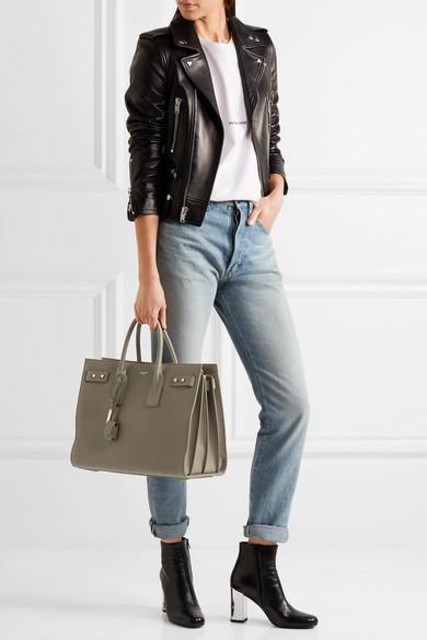 b6f8c729b SAINT LAURENT | Sac De Jour medium textured-leather tote | NET-A ...